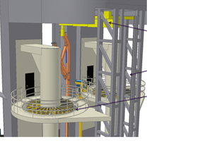 Topside pipehandling system